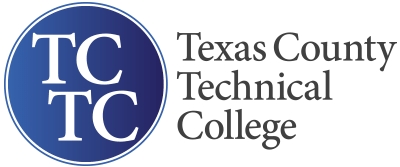 Texas County Technical College logo.